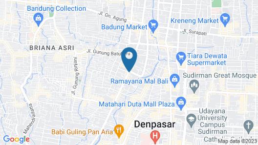 Taman Suci Map