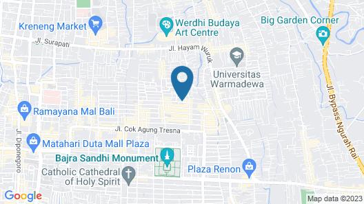 SPOT ON 2426 Hotel Aget Jaya Ii Map