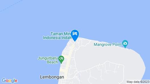 Mahagiri Resort Nusa Lembongan Map