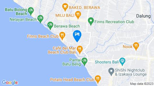 Lv8 Resort Hotel Map