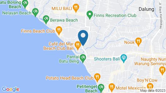 Villa La Luvier Map