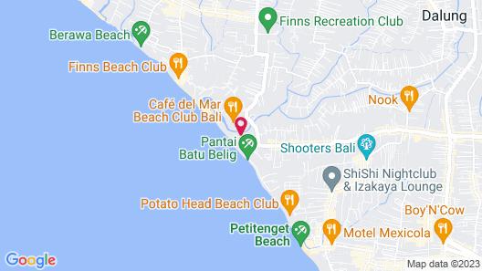 Villa Deva Map