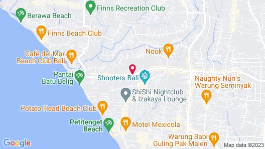Danoya Villa - Private Luxury Residences Map