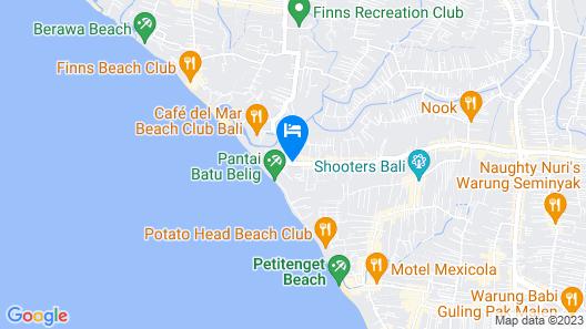Aloft Bali Seminyak Map