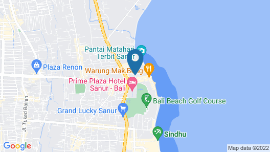Sri Phala Resort And Villa Map