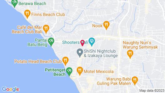 The Mawar Estate Map