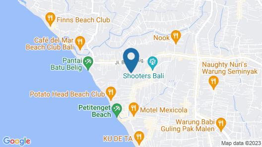 Four Points by Sheraton Bali Seminyak Map
