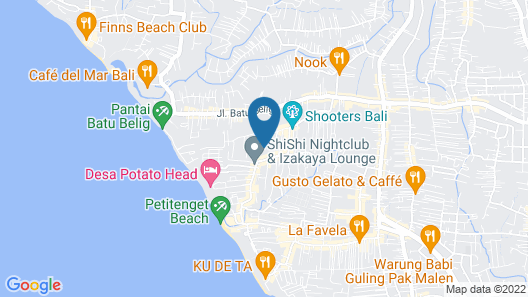 Beautiful Villa With Private Pool, Bali Villa 2028 Map