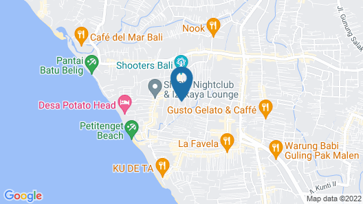 Hotel Vila Lumbung Map