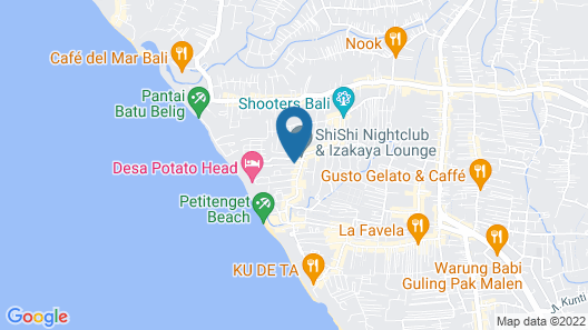 The Kayana Villa Map