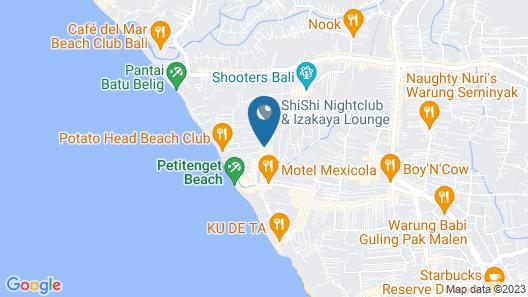 Montigo Resorts Seminyak Map