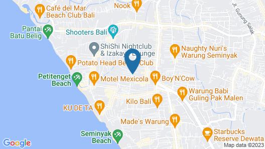 Bhavana Private Villas Map