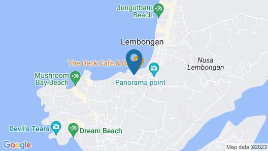 Batu Karang Lembongan Resort & Spa Map