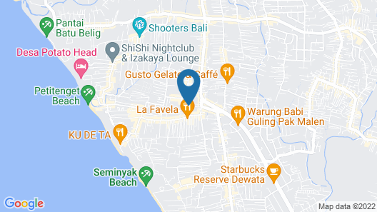 eqUILIBRIA SEMINYAK Map