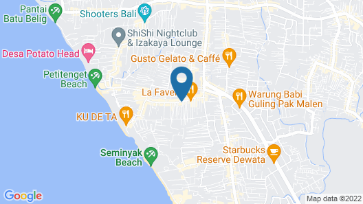 Allure Villas Map