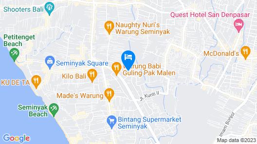 Ramada Encore by Wyndham Seminyak Bali Map