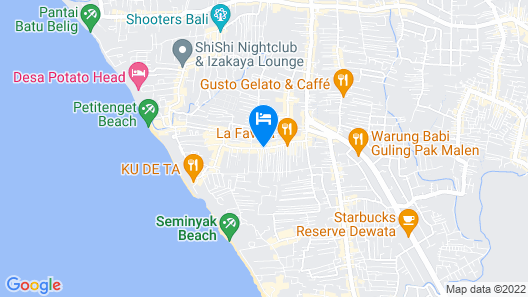 Amadea Resort & Villas Map