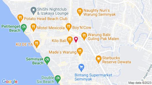 Villa Eindra Map