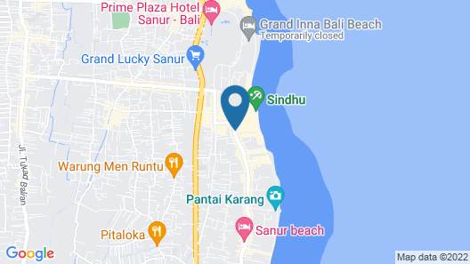 Ajanta Villas Map