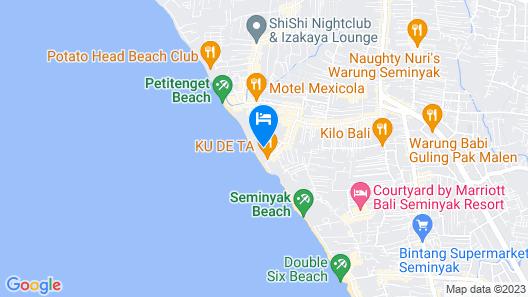 The Seminyak Beach Resort & Spa Map