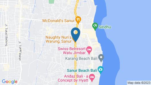 Bali Emerald Villas Map