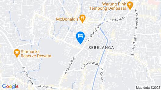RedDoorz Plus near Jalan Imam Bonjol Denpasar Map