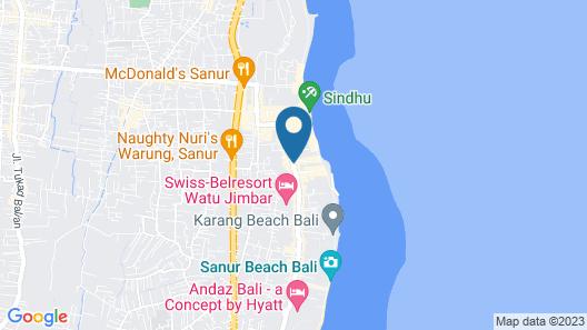 The Pavilions Bali Map