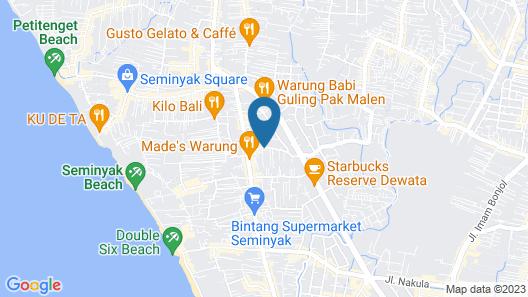 Kanishka Villas Map