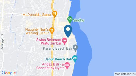 Tandjung Sari Map