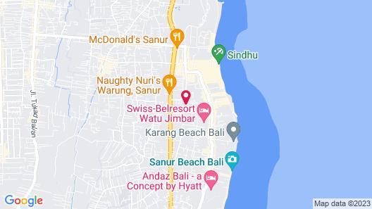 Villa Tulip Map