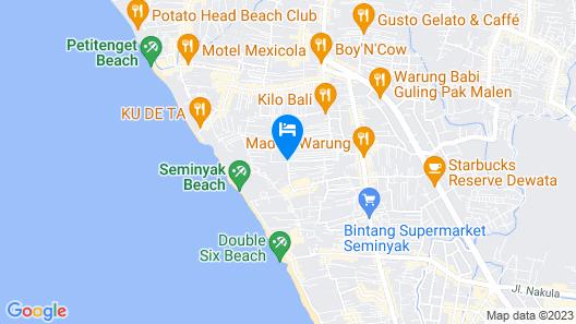 Tijili Seminyak Map