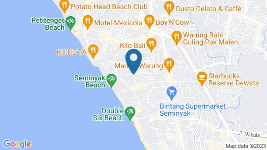 Destiny Boutique Hotel Map