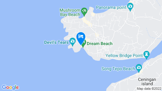 Dream Beach Huts Map
