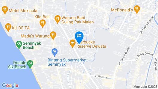 Asa Bali Luxury Villas & Spa Map