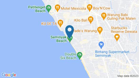 Noku Beach House Map