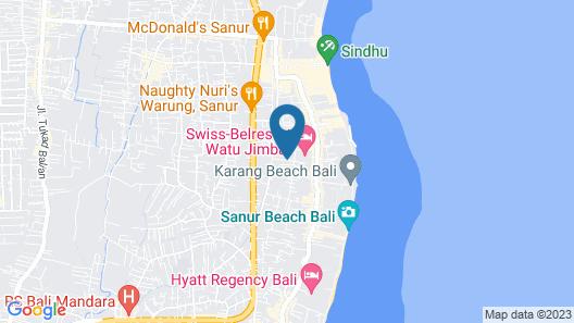 Katala Villas Map