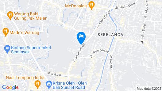 OYO 2836 Sekar Sari Residence Map