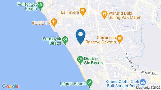 Blu-Zea Resort by Double-Six Map