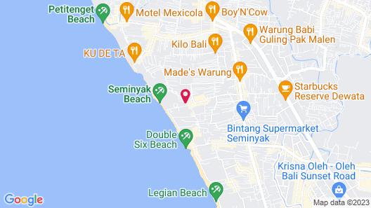Chandra Bali Villas Map
