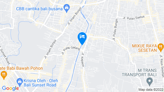 RedDoorz Plus near Mall Bali Galeria 2 Map
