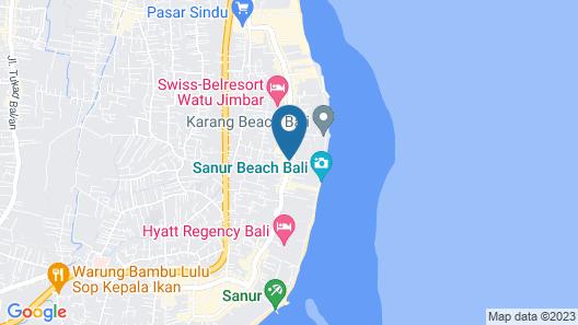 Kejora Villas Suites Map