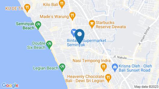 Jas Boutique Villas Map
