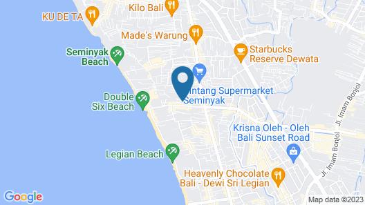 Villa Coco Map
