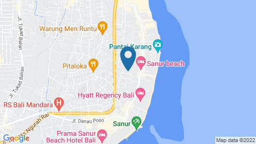 Bumi Ayu Bungalows Map