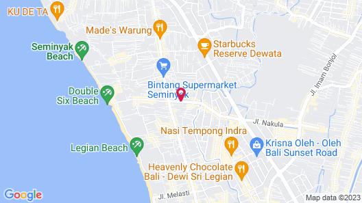 The Vie Villa Map