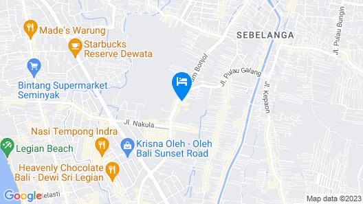 ZEN Rooms Imam Bonjol Denpasar Map