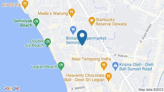 Daluman Villa Map