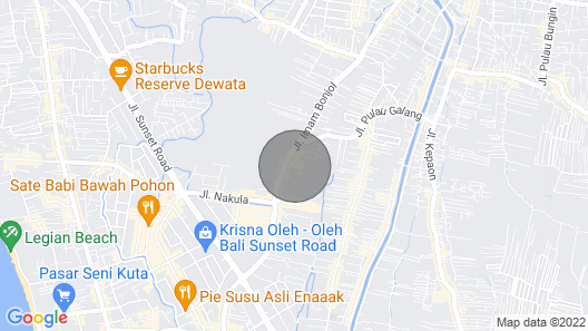 1BR Luxury Suite in the Heart of Bali F Map