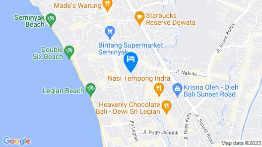 Fairfield By Marriott Bali Legian Map