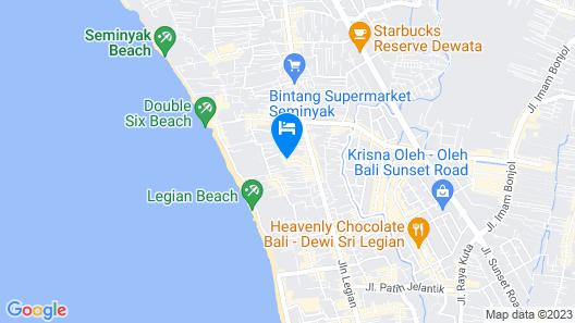 Baleka Resort Hotel & Spa Map